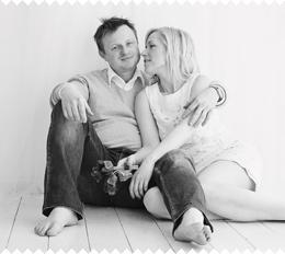 Filip Holec s manželkou Bárou